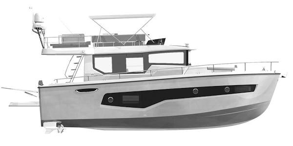 Cranchi T 43 Trawler