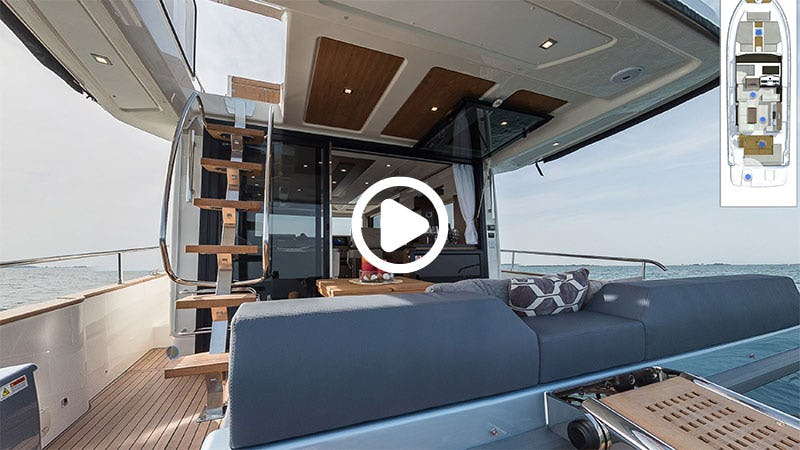 Cranchi T 43 Eco Trawler virtual tour start image