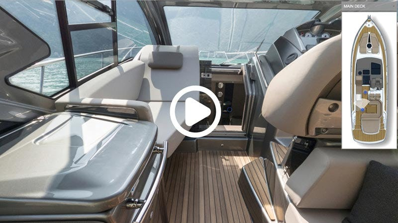 Cranchi M 44 HT Hardtop virtual tour start image