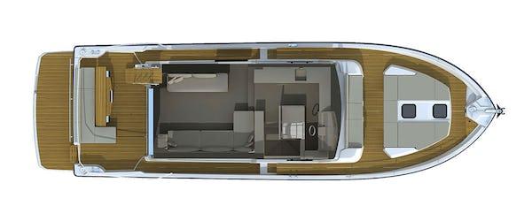Cranchi T 55 Trawler plan