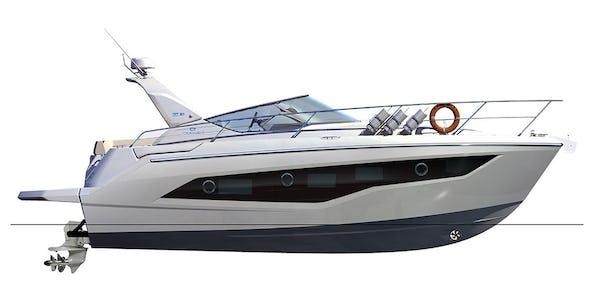 Cranchi Z35 Cruiser plans