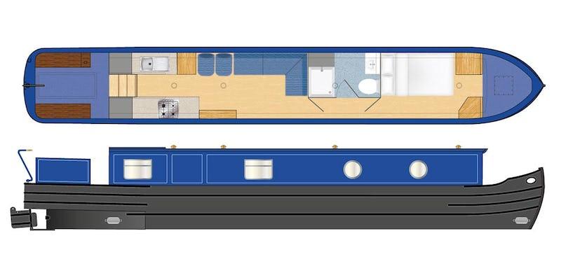 Tingdene Narrowboat 46